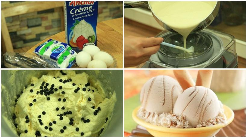 làm kem vanni thơm ngon không cần máy làm kem