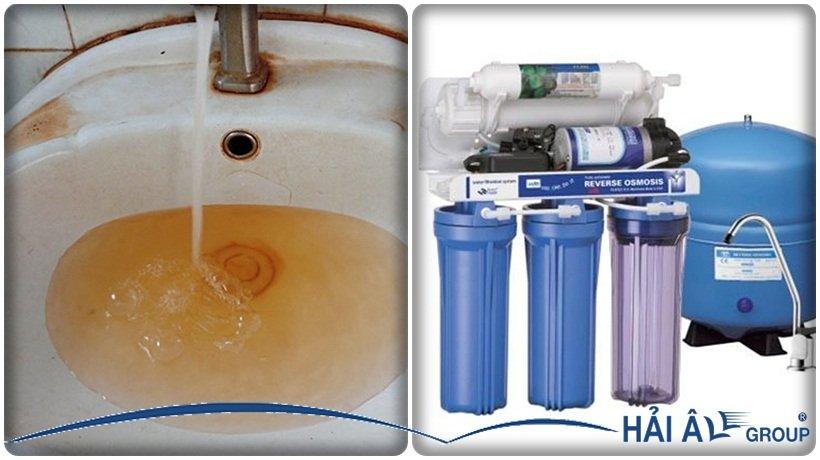 hệ thống lọc nước đá sạch