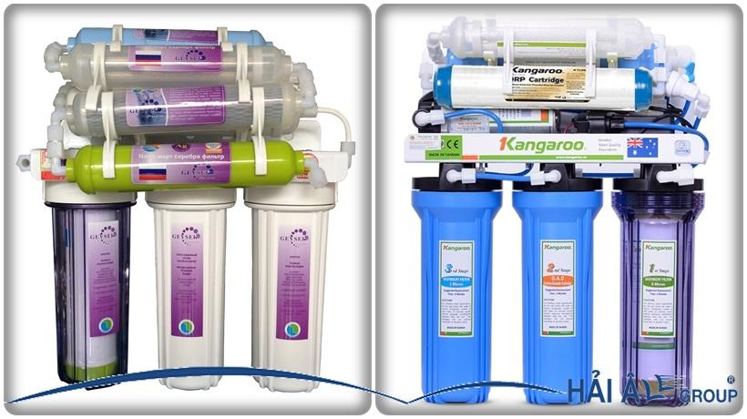 Thiết bị lọc nước nano và RO