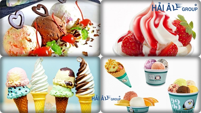 các loại kem trên thị trường