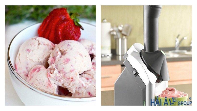 máy làm kem bowl lạnh
