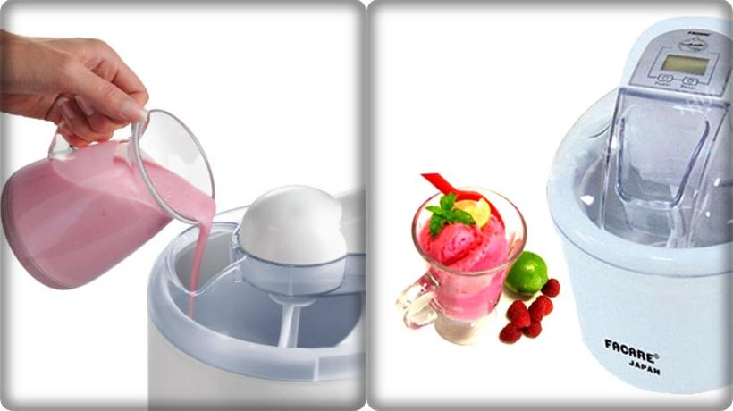 máy làm kem bằng bowl lạnh