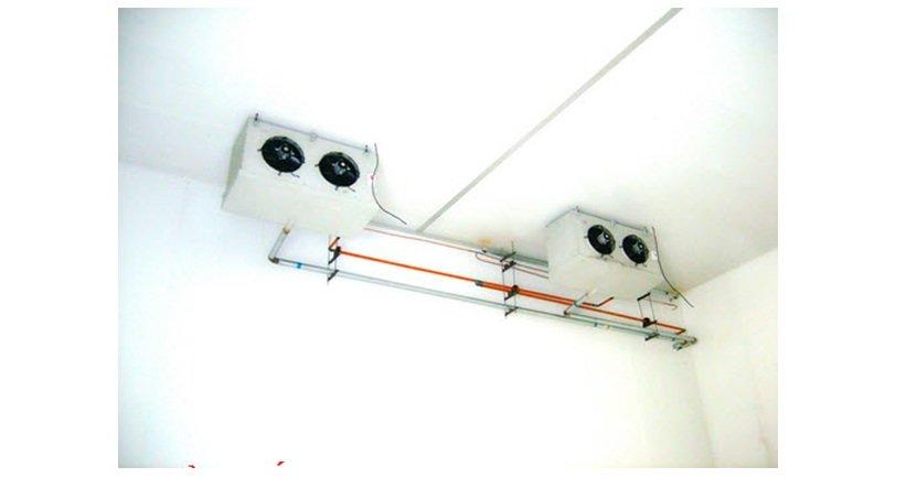 thiết bị quạt gió của hệ thống kho lạnh