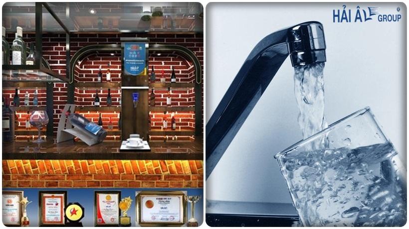 nguồn nước sạch cho máy đun nước nóng