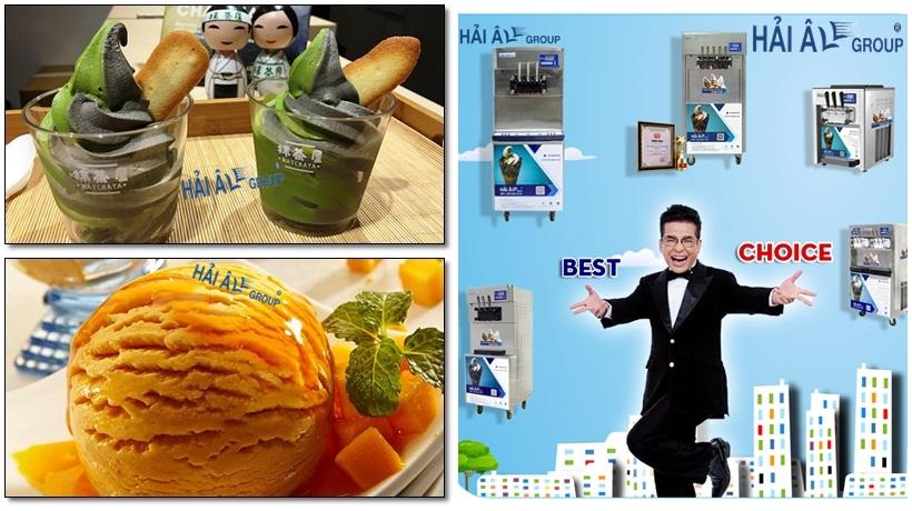 máy làm kem tươi với đủ các loại model