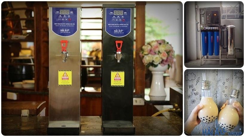 máy đun nước nóng Hải Âu kết hợp bộ lọc nước