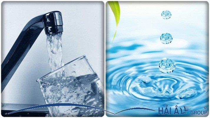 nguồn nước sạch rất cần thiết cung cấp cho máy làm đá